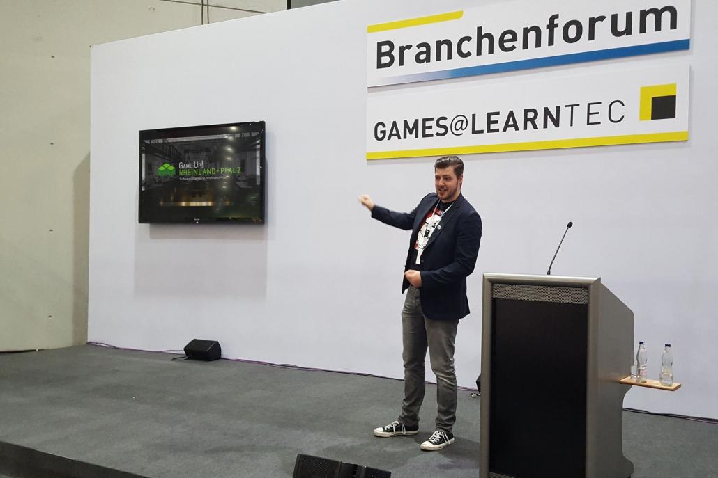 GameUp! auf der Learntec 1