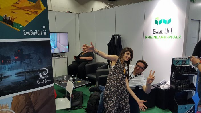 GameUp! Booth auf der Gamescom 2017 4