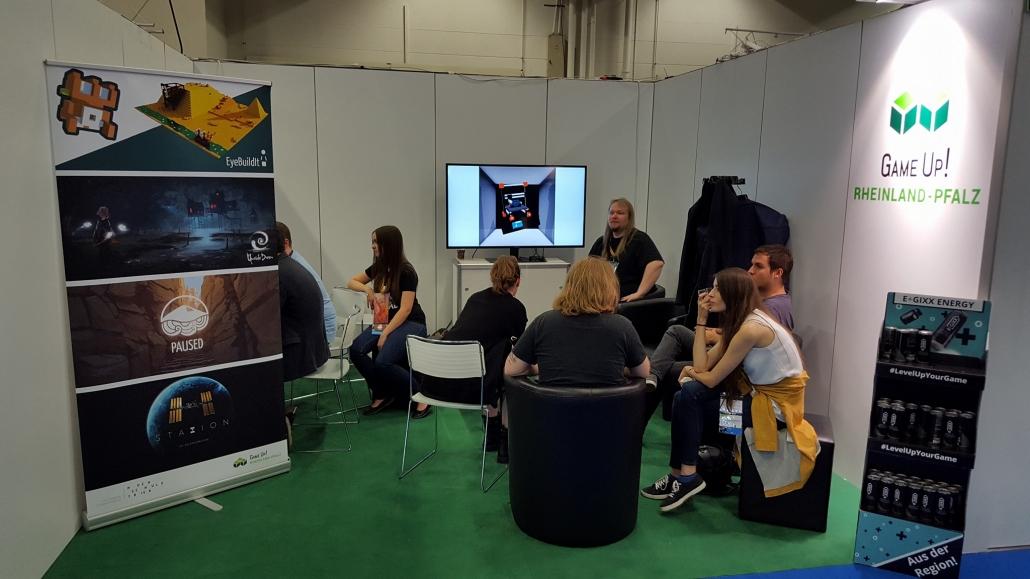 GameUp! Booth auf der Gamescom 2017 1