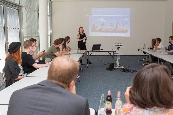 gamescom 2018 mit Staatssekretärin Daniela Schmitt 4
