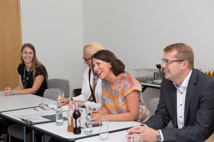 gamescom 2018 mit Staatssekretärin Daniela Schmitt 7