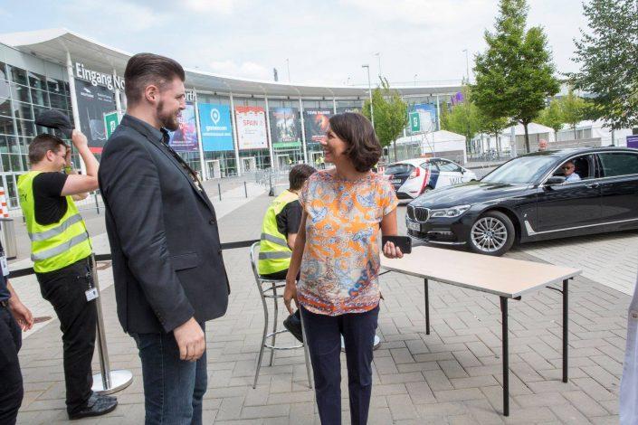 gamescom 2018 mit Staatssekretärin Daniela Schmitt 8