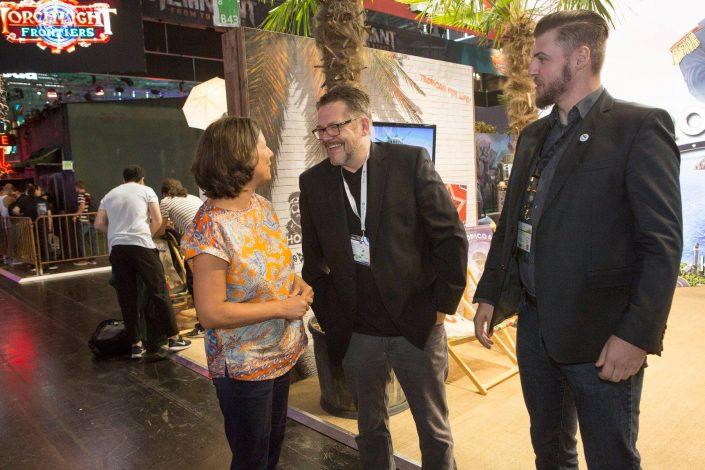 gamescom 2018 mit Staatssekretärin Daniela Schmitt 10