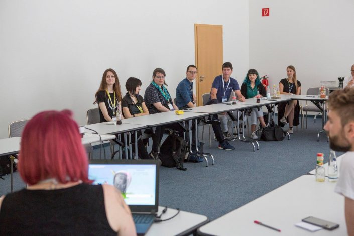 gamescom 2018 mit Staatssekretärin Daniela Schmitt 12