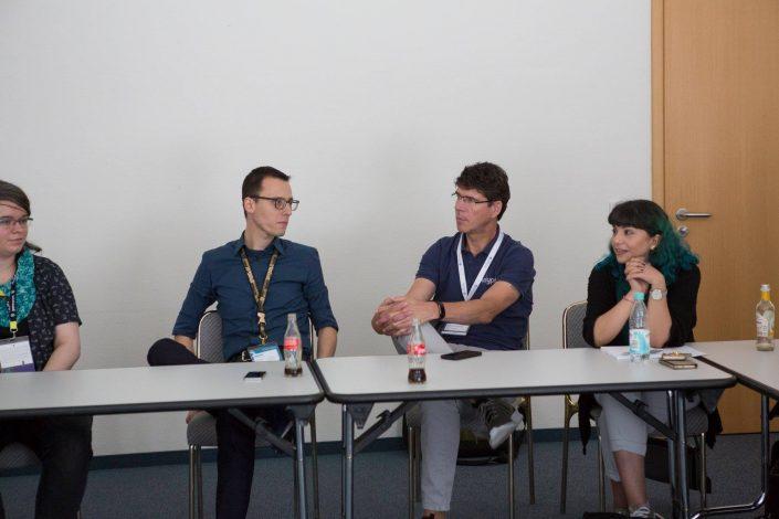 gamescom 2018 mit Staatssekretärin Daniela Schmitt 19