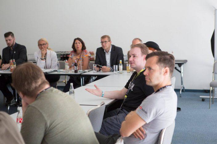 gamescom 2018 mit Staatssekretärin Daniela Schmitt 20