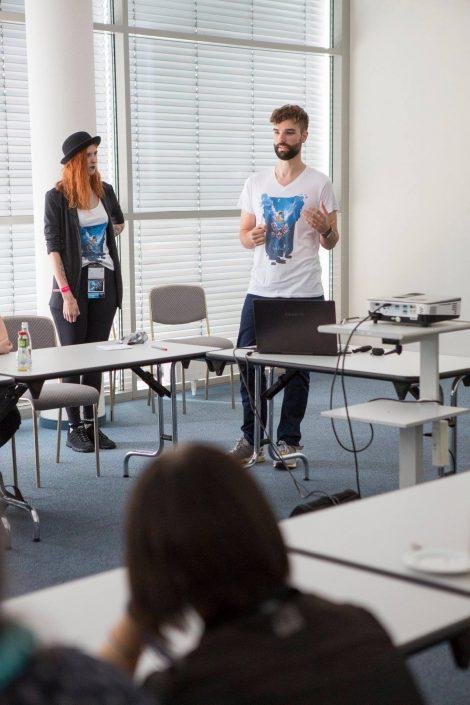 gamescom 2018 mit Staatssekretärin Daniela Schmitt 28
