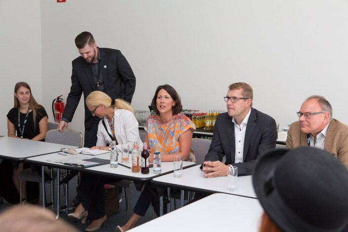 gamescom 2018 mit Staatssekretärin Daniela Schmitt 35