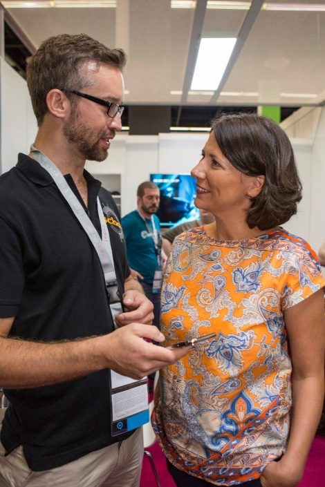 gamescom 2018 mit Staatssekretärin Daniela Schmitt 39