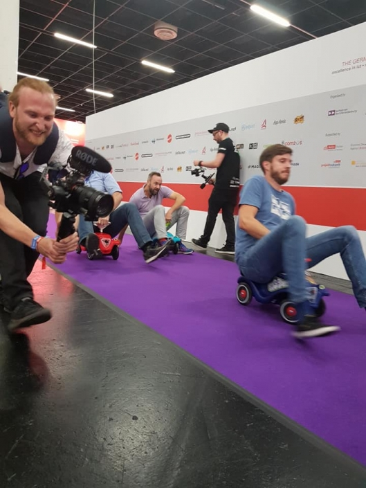 Gamescom 19 - Gaming-Aid Charity Bobbycarrennen 3
