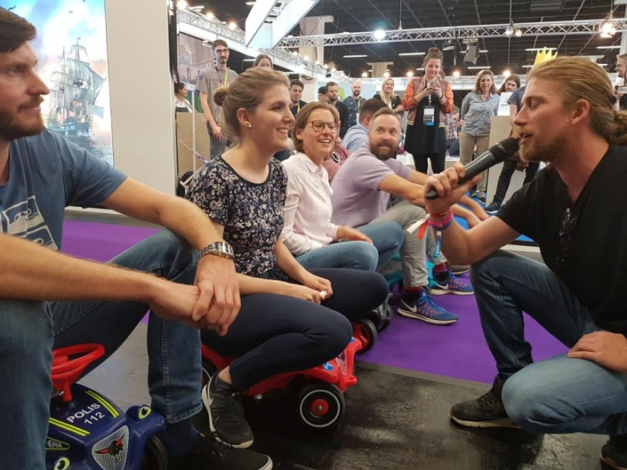 Gamescom 19 - Gaming-Aid Charity Bobbycarrennen 4