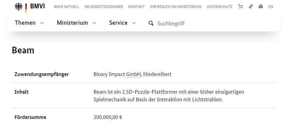 Binary Impact aus Koblenz erhält Bundesförderung 2019 1